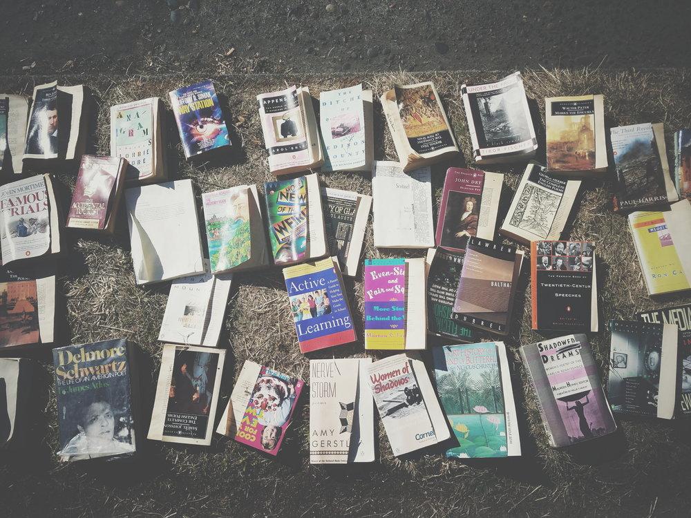 Old Books - Erin J. Bernard