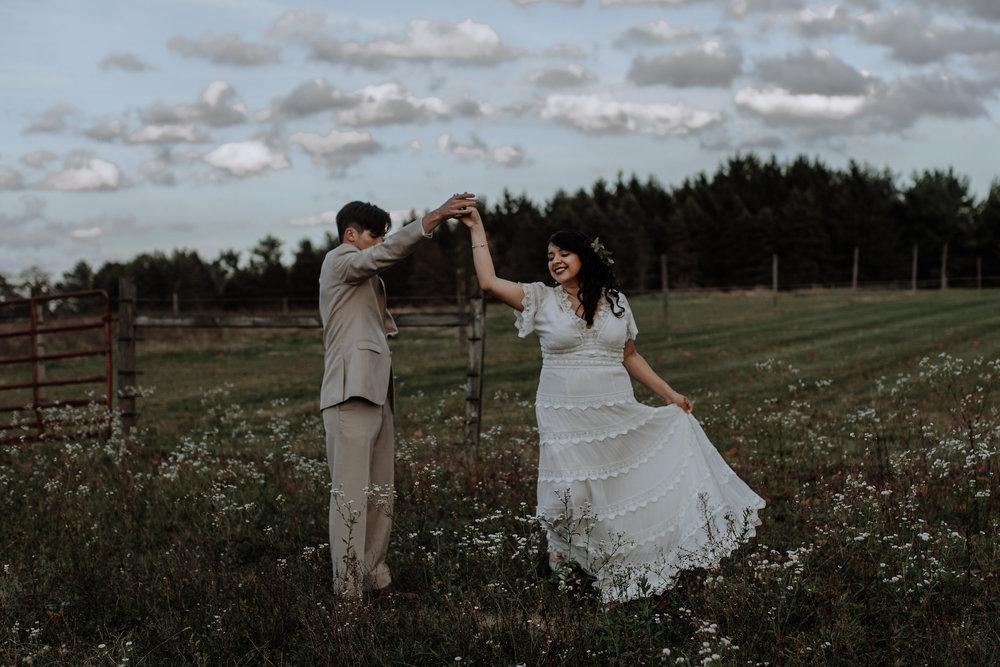 Dani & Ed ( Hand & Arrow Photography )
