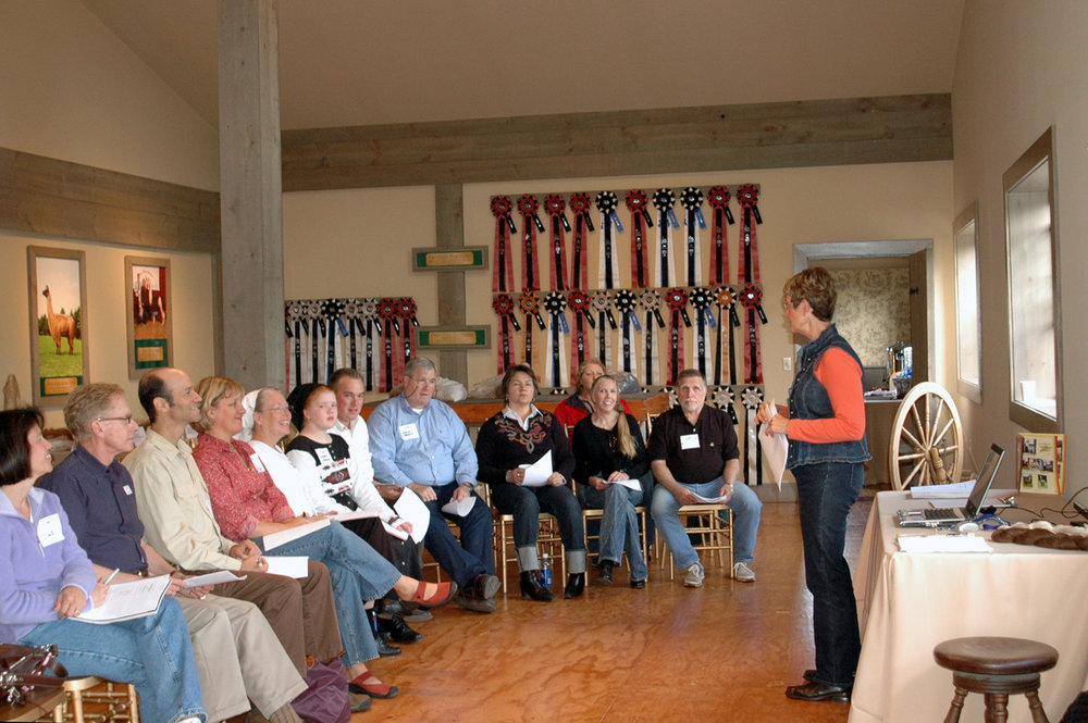 Seminars were a staple of livestock events hosted at WoodsEdge.