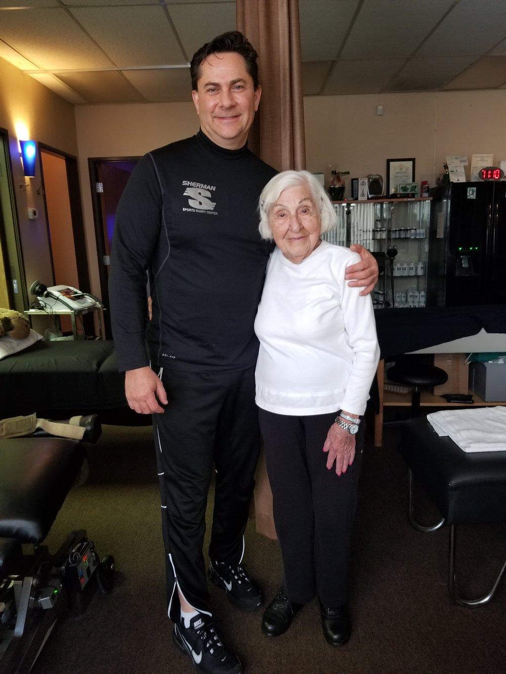 Bornstein, 100-Year-Old Patient