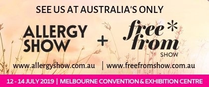 Find us at the Free From Show Melbourne