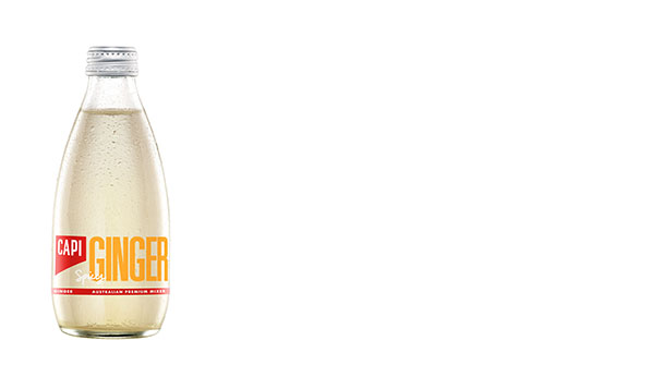 Spicy Ginger  Our all-Australian Ginger Beer is renowned for its unique spicy kick. Made from fresh Australian ginger and capsicum extract, this all-natural Ginger Beer has a crisp, warm finish.   250ml  24 loose or 6x4pk  750ml  12 loose