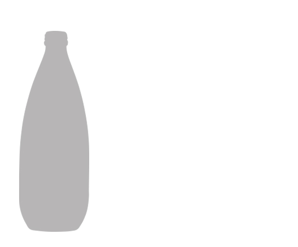 1L   Our 1L bottle is our largest format. Ideal for fine dining, it's the perfect addition to any table. Cases contain 12 loose bottles.
