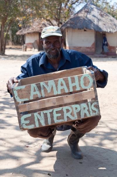 A farmer who participated in the iDE Farm Business Advisor program in Zambia.