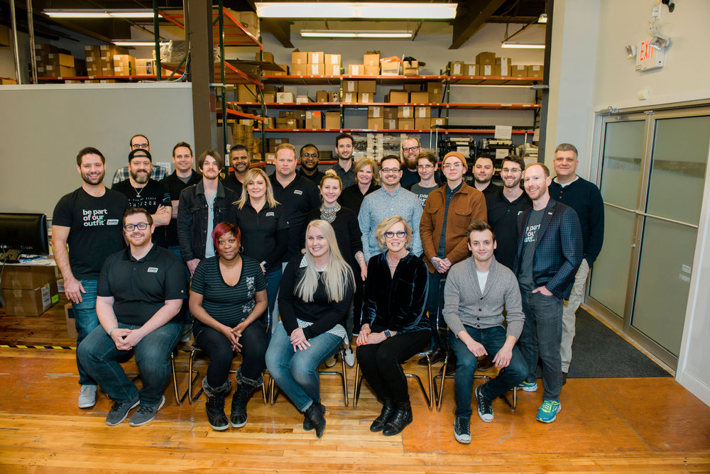 """""""When the team and ouremployees can excelwithout us — whenthey feel proud, happy,and fulfilled — they feel likeit's their company, too."""" - Dennis O'Donnell, co-founder of Mobile Outfitters"""