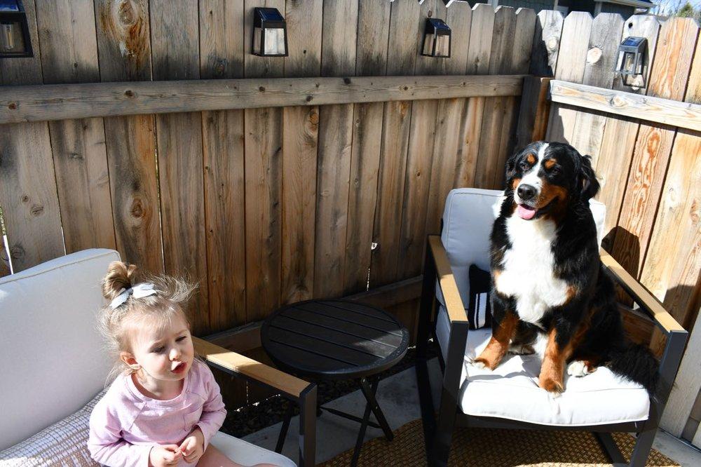 Berkeley and Daisy on porch.jpg