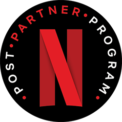 Netflix Post Partner Badge