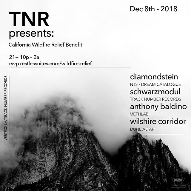 I'll be throwing down a modular set along side some really amazing musicians and the @tracknumberrecords crew on December 8th. This show is not to be missed! We'll be donating all of the funds to help with wildfire relief. Come out and support!! _____________________________________________________________________________________________________________________ #modular #synths #idm #live #music #tracknumberrecords
