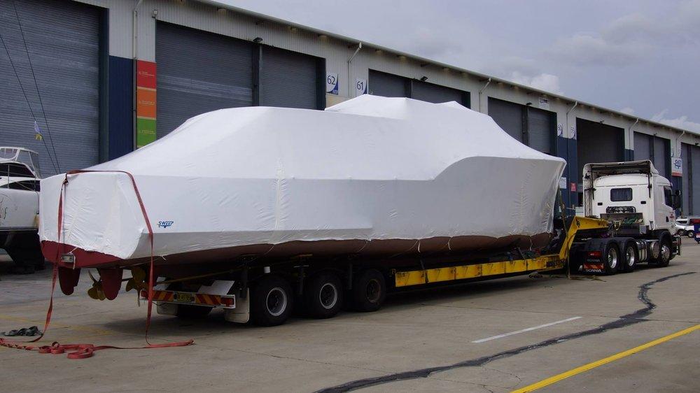 Full Vessel Encapsulation for Transport