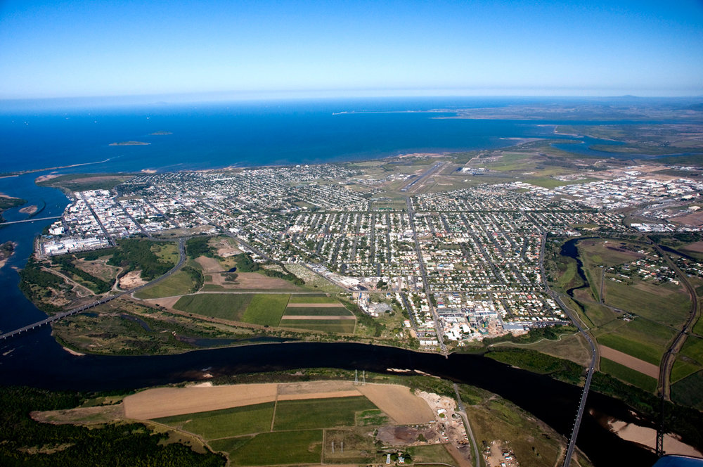 90,000 sq km - Mackay Isaac Whitsunday region