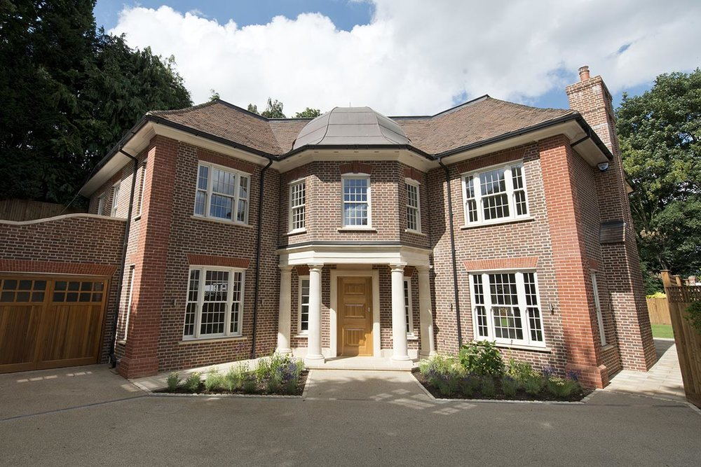 Front of Deepdale house in Wimbledon