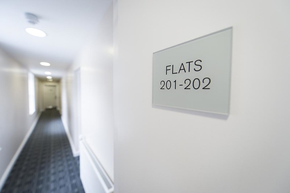 Mildmay House Liverpool communal hallway