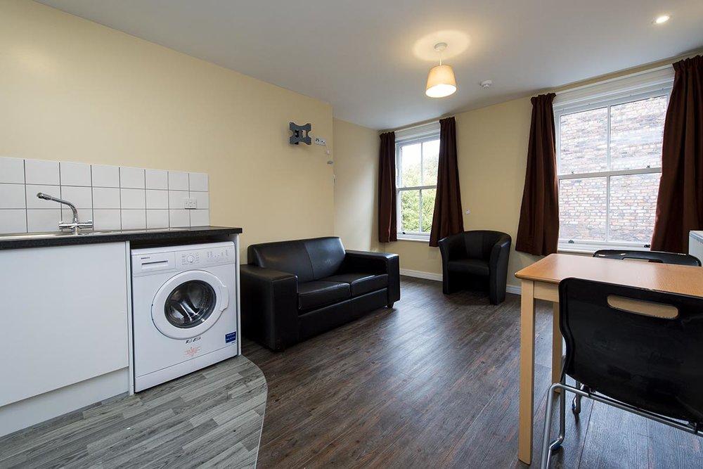 Mildmay House Liverpool living area