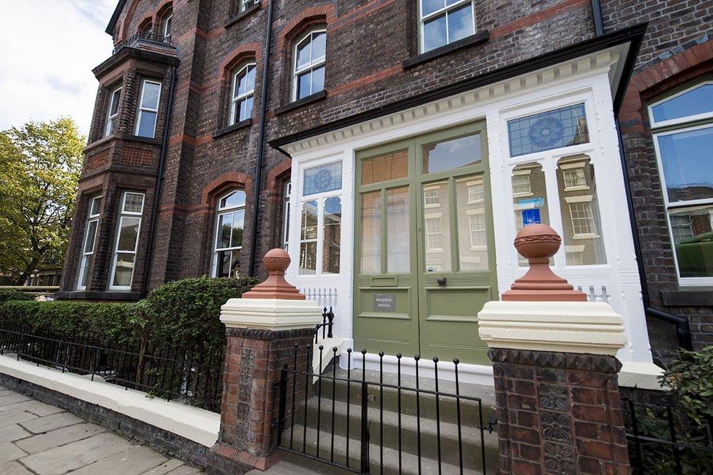 Mildmay House Liverpool double doors