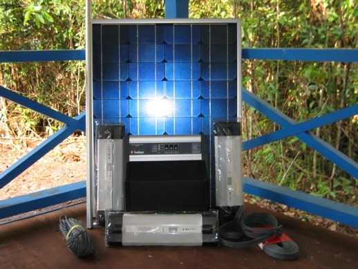 Solar power set