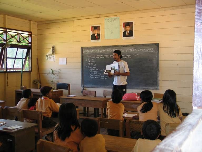 Kampung Konservasi's educational activities