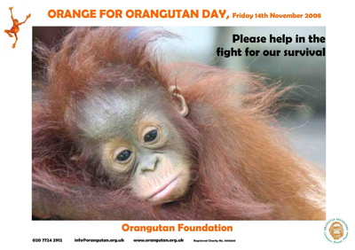 Orange Day Poster
