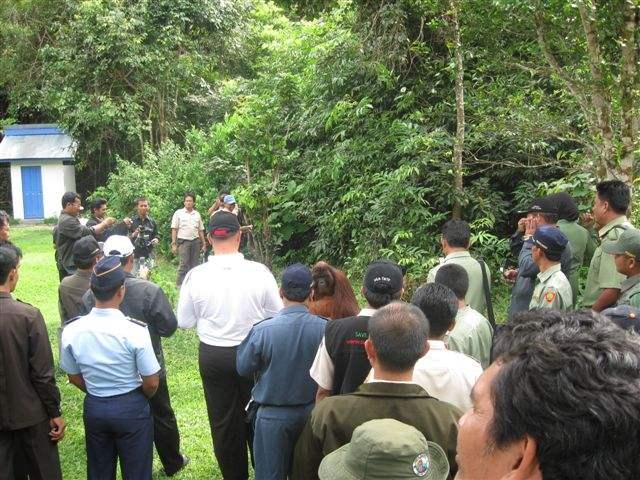 Bupati visit to Tanjung Puting National Park