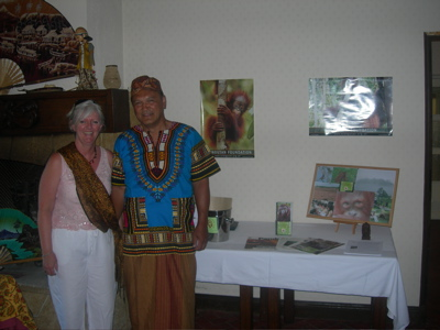 Kate and Micky - Indonesian Fundraising Evening