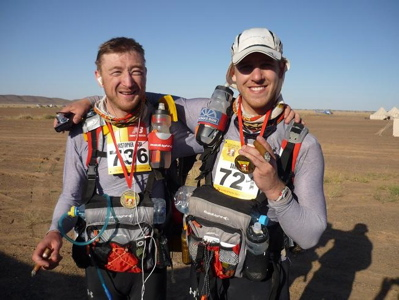 Marathon des Sable - Chris and Dan