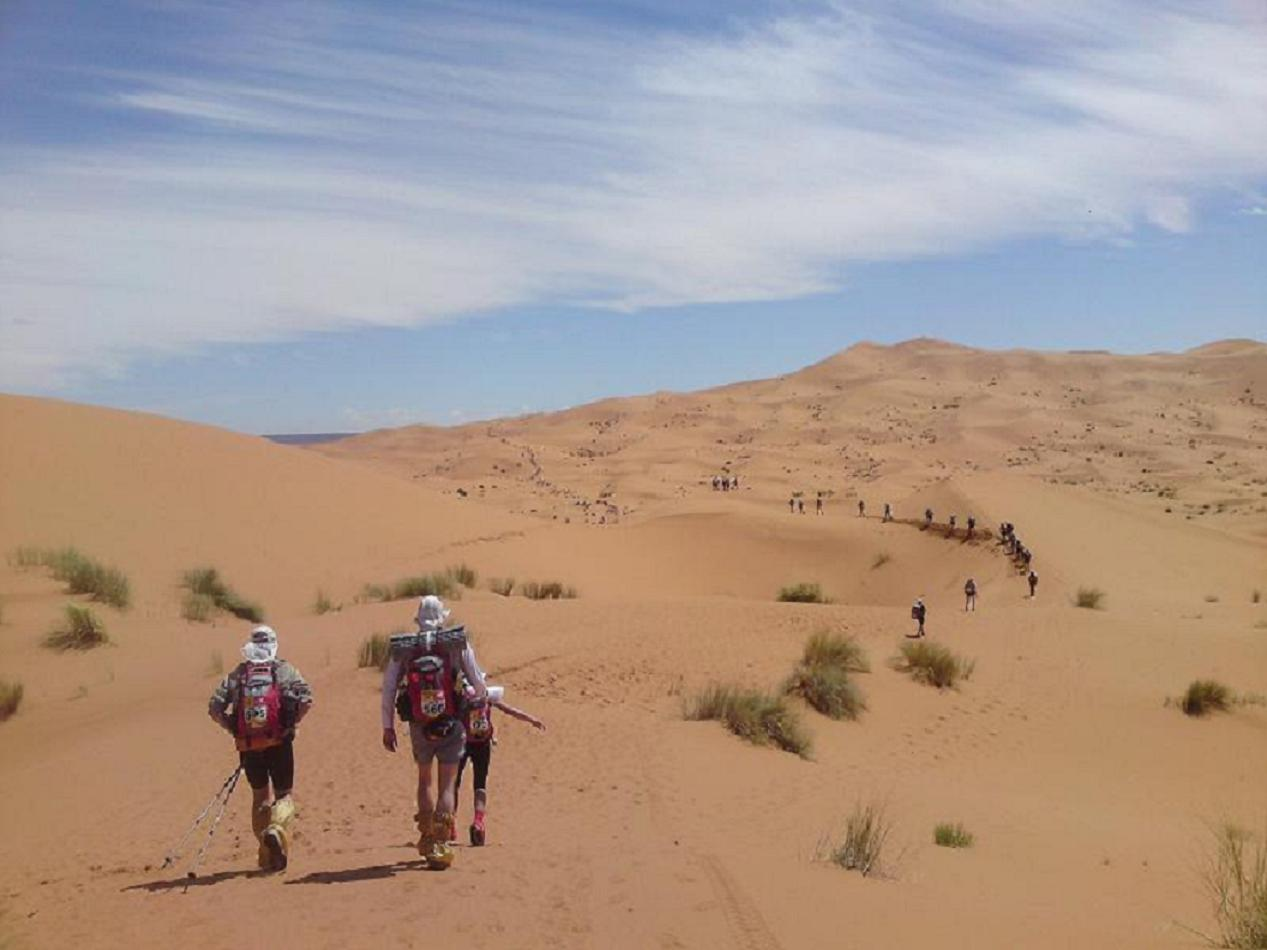 Marathon des Sable -Day 1