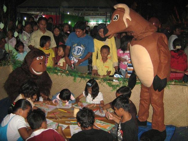 Children at Sukamara Fair