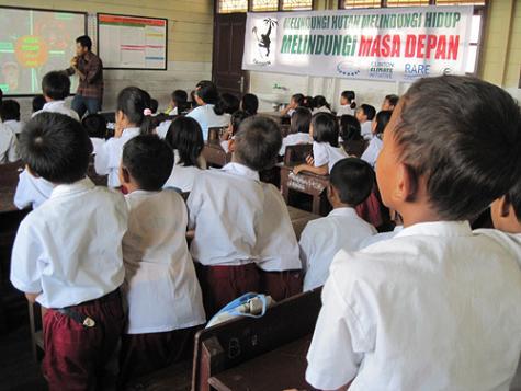 Yayasan Orangutan Indonesia -school campaign