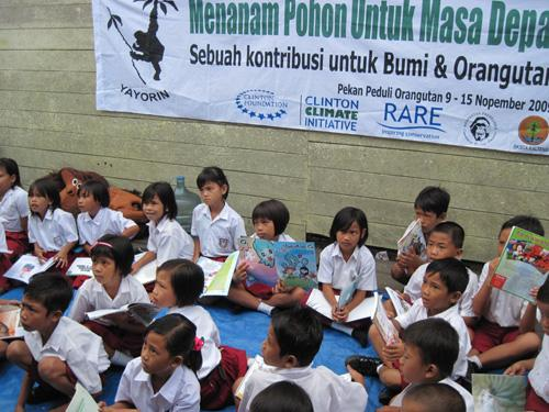 Yayasan Orangutan Indonesia - Mobile library