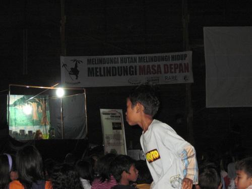 Yayasan Orangutan Indonesia - Puppet show