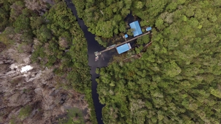 camp buluh from drone2