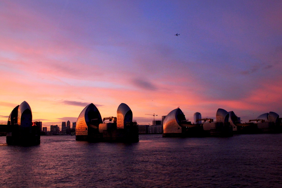 Greenwich Peninsula - Explore riverside sculptures, a nature reserve, quarries and the iconic flood barriers