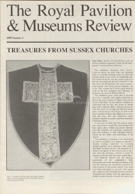 Treasures from Sussex Churches