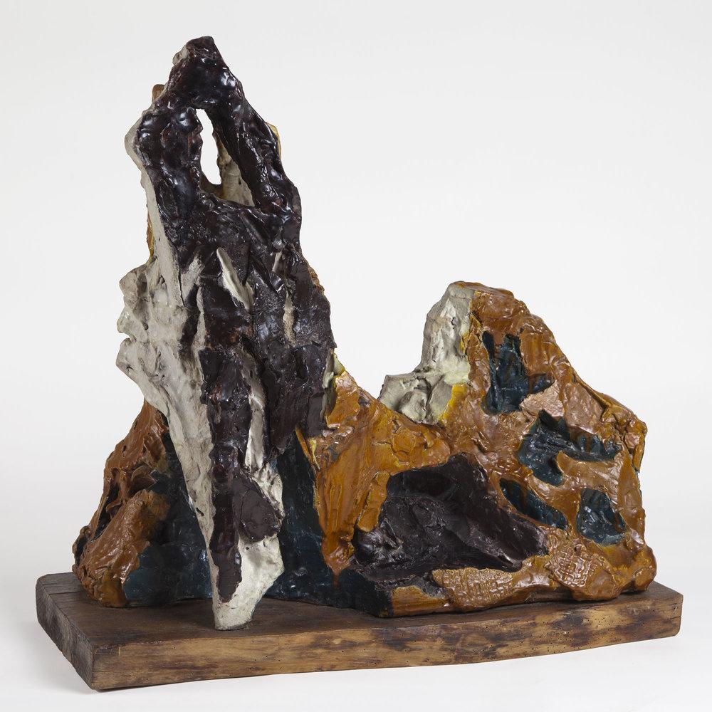 Leoncillo Leonardi  Il cane,  1956 Ceramica policroma 85 x 47 x 45 cm Acquisto 2004