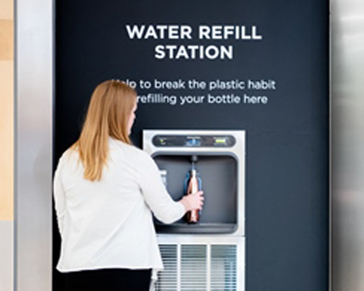 Canary Wharf Group Aims to Cut 100,000 Plastic Bottles with