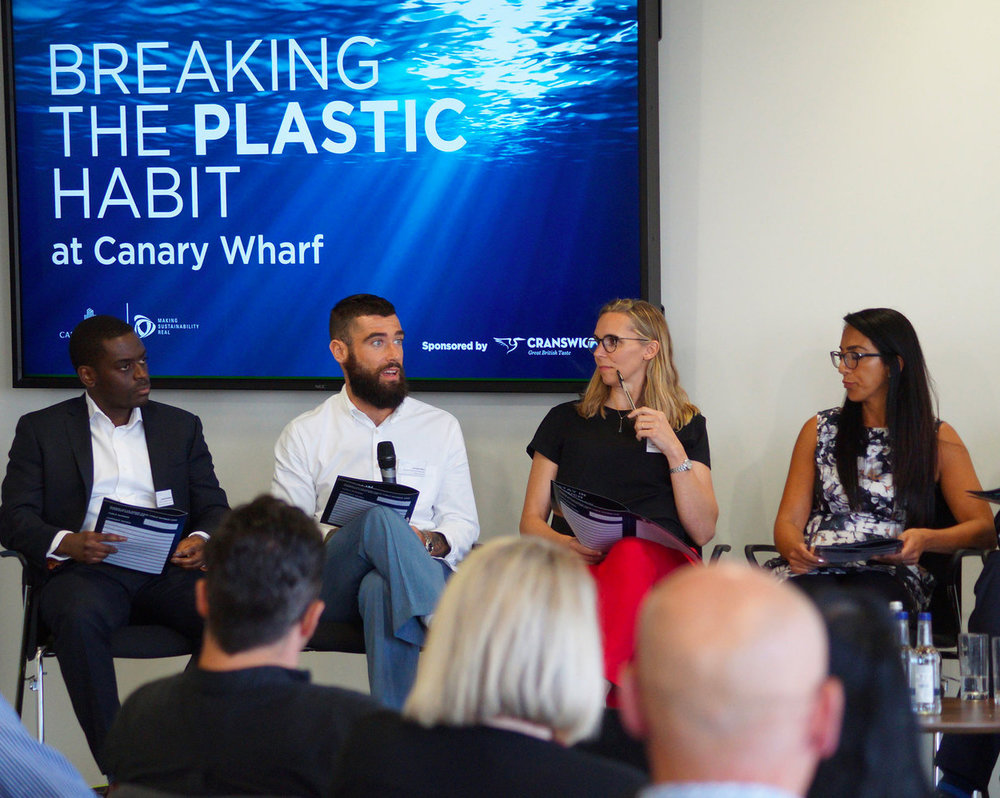 - We are always looking for new technologies, ideas and innovations to test and find new ways to minimise single-use plastic on our Estate. No matter the development stage of new technologies, or material alternatives, we're looking to try out ideas for the future; to accelerate the elimination of single-use plastics and their impact on our planet.