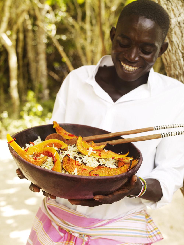 Kinondo Kwetu Hotel lunch Pilau, Galu Beach, Diani Beach, Kenya.jpg