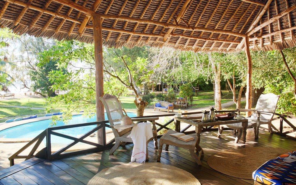Kinondo Kwetu Hotel Cottage Bungalow 3 veranda, Galu Beach, Diani Beach, Kenya.jpg