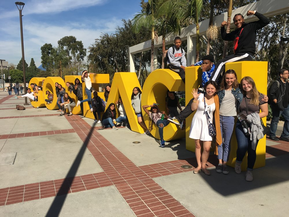 Theatre Arts Field Trip November 2018 to CSULB and the Carpenter Center!