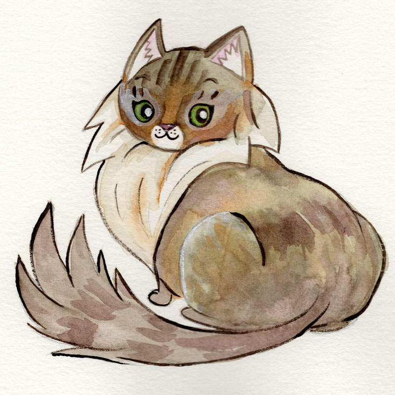 Watercolor,  9 x 12 watercolor paper