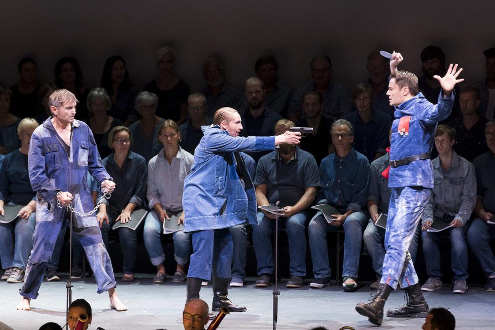 Foto © styriarte/Kmetitsch, FIDELIO mit Johannes Chum, Johanna Winkel & Jochen Kupfer
