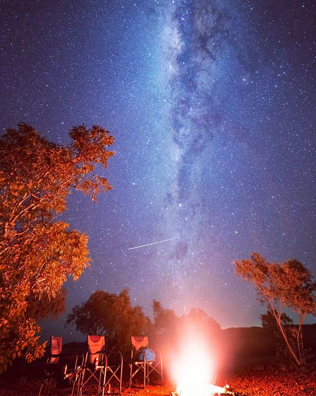 Australian Bush Roadtrip: Each night would wind-down with collecting firewood and having dinner with a few beers watching the milky way soar above.· · · · · · · · · #camping #campingofficial #starsigns #fireside #australia_shotz #campinglife #ig_australia #seeaustralia #travel #stars #milkyway #fire #campingadventures #australiagram #australia #campingout #campingtrip #zodiac #aussie #starsign #campingfun #australianshepherd #bvsquad #astrophotography #my3leggedthing #perthnow #perthlife #witns