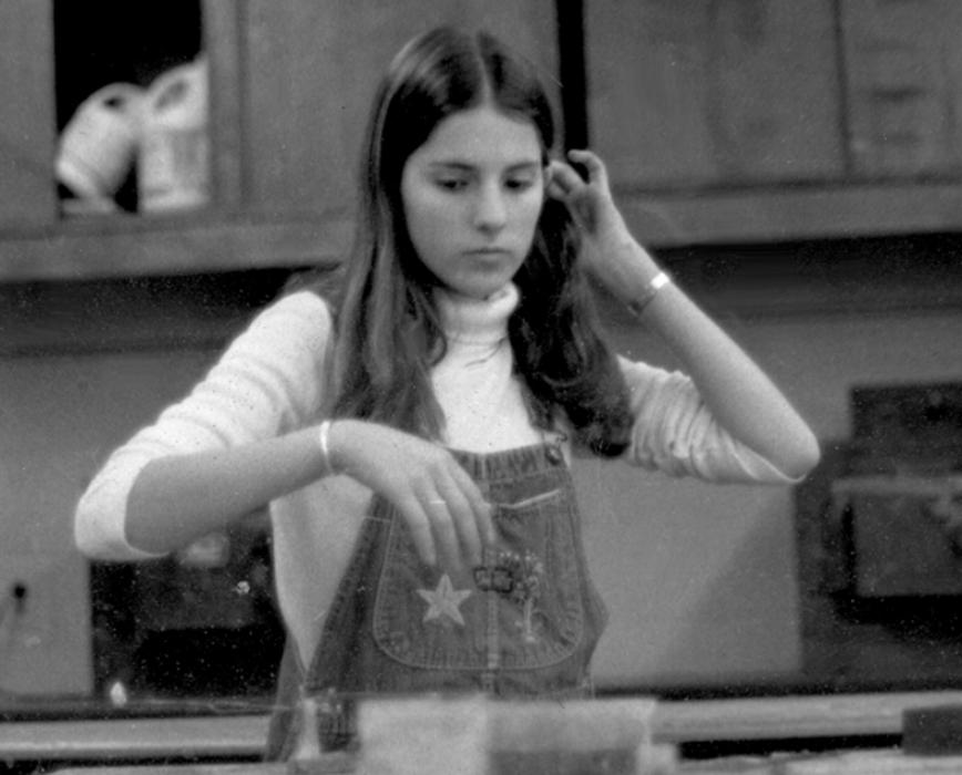 metalsmithing class 1975