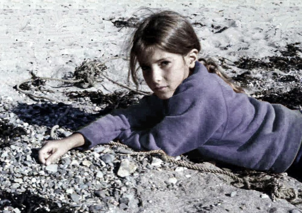 collecting stones . cape cod . 1969