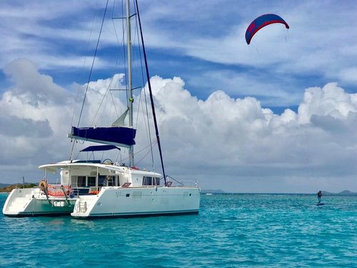 Kite Surf Trips on a Catamaran
