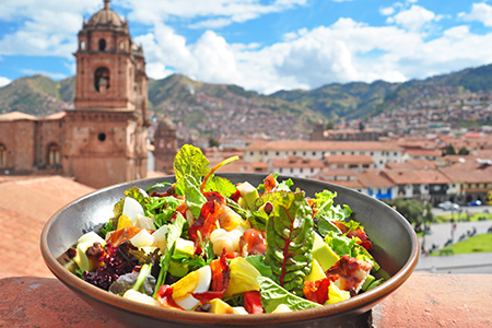 Wandering as a Vegetarian in Peru