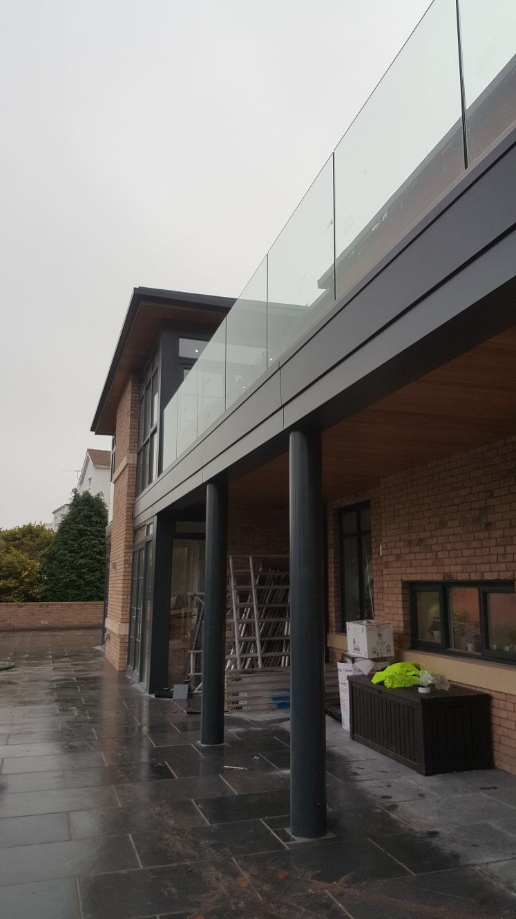 - The application of architectural pressed metal, colour matched to the NorDan windows was applied. This not only enhances the overall facade to give a contemporary appearance, but also provides protection from the elements, is low maintenance, sustainable and fully recyclable.