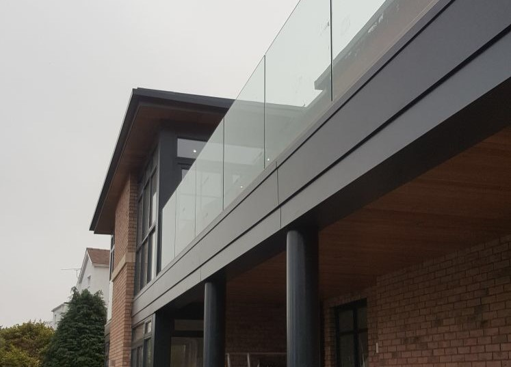 Glass balustrades -