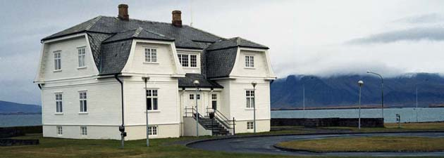 Hofdi House, where the Reykjavik Summit took place in October 1986