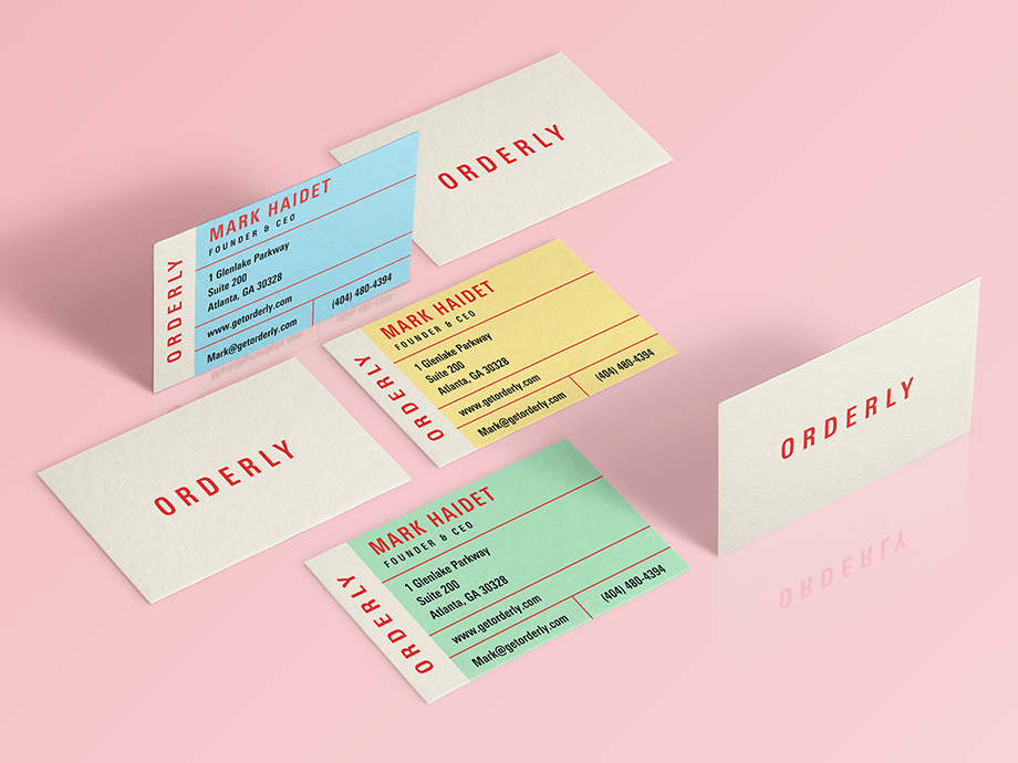 Orderly - Branding, Website, Print Collateral