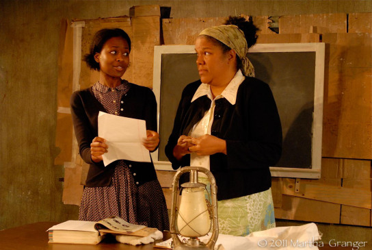 """On the Cusp"" - Medina Senghore, Lori Brown (Photo: Martha Granger)"